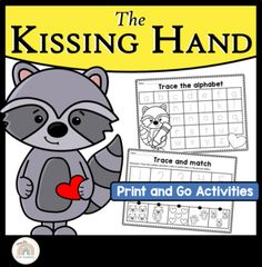 The Kissing Hand by Audrey Penn is the best first day of school book to read with your Pre-K, Kindergarten, Prep, Foundation or First-Grade students. These back-to-school worksheets and activities are print and go. Activities to complete in the first week of school include making crowns, alphabet ... Line Tracing Worksheets, Back To School Worksheets, First Day Of School Activities, School Resources, First Grade, Second Grade, Kissing Hand Activities, The Kissing Hand, Alphabet Tracing