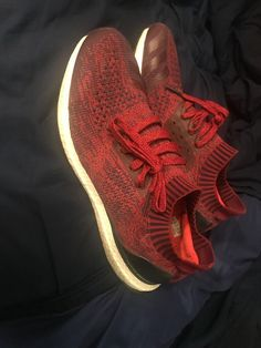 90f64f64895ad adidas UltraBoost Uncaged Ultra Boost  Burgundy  Dark Red sz 12.5  fashion   clothing