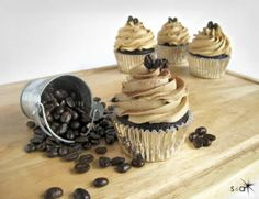 Kahlua Coffe Cupcakes