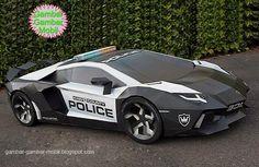 foto mobil polisi modif