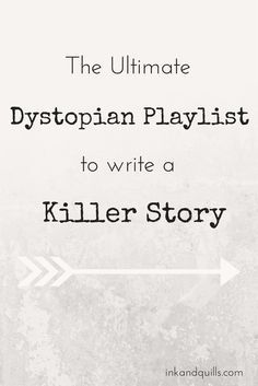 The Ultimate Dystopian Playlist to Write a Killer Story- A little more Trent Reznor and some of Hans Zimmer's Dark Knight Trilogy soundtrack, and you're all set!
