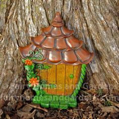 Fairy Homes and Gardens - Fairytale Fairy Door, $16.99 (http://www.fairyhomesandgardens.com/fairytale-fairy-door/)