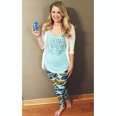 LulaRoe Amber Marie- VIP Boutique Leggings   Heading to see #findingdory  in my #lularoe whale leggings and my P. Sherman shirt by @rachelwalter_etsy