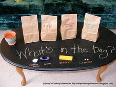 "What's in the Bag? - children have to guess, based on lifting (is it heavy or light?), shaking (is it loud or quiet?) squishing (Is it soft or hard/big or small?) ("",) - could be a good warmer/starter task for a topic at any level Maths Eyfs, Eyfs Activities, Preschool Games, Craft Activities For Kids, Toddler Preschool, Crafts For Kids, Eyfs Classroom, Nursery Activities, Numeracy"