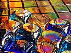 Glass Abstract by S Loft
