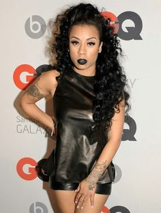Keyshia Cole Spices Up The Holidays With Glam Party Look