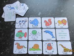My First Animals Flash cards FUN Learning ~ Babies & Toddlers first flash cards