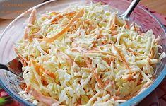 ensalada de col coleslaw Coleslaw, Low Carb Recipes, Side Dishes, Cabbage, Salads, Meals, Vegan, Vegetables, Food