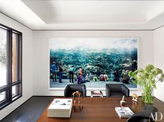 Home Office Office Wall Wallpaper 50 Home Office Design Ideas That Will Inspire Productivity Architectural Digest Architectural Digest 50 Home Office Design Ideas That Will Inspire Productivity Architectural Digest, Office Interior Design, Office Interiors, Home Interior, Office Designs, Modern Interior, Corporate Office Design, Interior Designing, Bedroom Walls