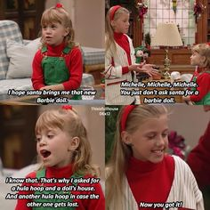 Full House Full House Memes, Full House Funny, Full House Quotes, Ice Queen Adventure Time, Adventure Time Anime, Stephanie Tanner, Barbie, Fuller House, Cute Young Girl