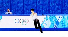 gif japan japanese sports olympics winter olympics sochi 2014 figure skating Team Japan yuzuru hanyu sochi2014 sochi olympics mens singles