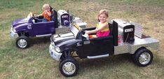 Welders, check out these Powerwheels for the kids - TexasBowhunter.com Community Discussion Forums