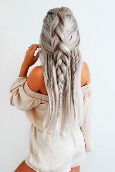 Trendy Braided Hairstyles for Long Hair picture 1