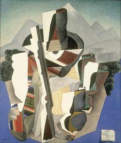 Diego Rivera - Zapata style Landscape