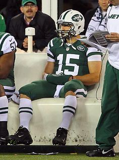 """Tebow has two broken ribs"" SI.com (November 22, 2012)"