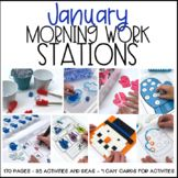 Morning Work Stations - January