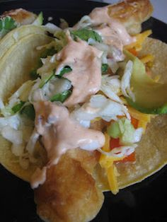 Ms Not So Perfect...beer batter fish tacos