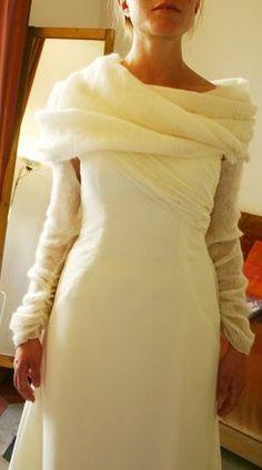 Coprispalle in lana