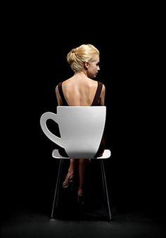 Tea-cup chair