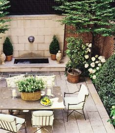 veranda magazine patios with white limeatone - Yahoo Search Results