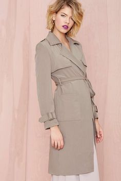 Let It Reign Trench Coat | Shop What's New at Nasty Gal