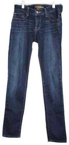 21ac57c8a45fe Lucky Women s Lola Dark Blue 5 Pocket Skinny Jeans Size 2  LuckyBrand   LolaSkinnyJeans
