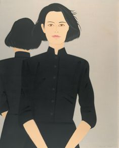 ALEX KATZ Alba, 1992 Aquatint in six colors 34 5/8 x 27 7/8 inches Edition: 100 Artist Proofs: 12 Somerset Textured paper Printed by Doris Simmelink, Chris Sukimoto, Derrick Isono, and John Shibata, Simmelink-Sukimoto Editions Published by Chalk and Vermilion Fine Arts, Greenwich, Conn.