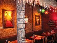 Hula's Bar & Grill Tiki Room - Monterey, CA