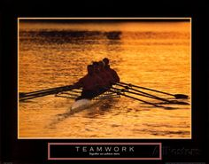 Teamwork: Rowers Posters at AllPosters.com