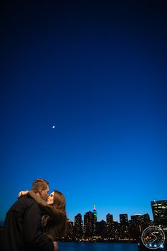 Sneak Peek | Sergej + Victoria | Wedding Proposal in New York City, surprise Engagements » NYC based photographer, Sascha Reinking Photography, color photos, LIC Piers, Gantry State Park, NYC Skyline