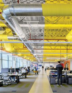 Facebook Mexico City, Mexico by Gensler . Photography by Rafael Gamo.