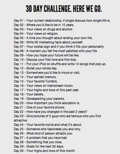 30 day writing challenge - full of writing prompts/ideas. Don't know if I'd do the whole list, but some interesting stuff to think about. Creative Writing, Writing Tips, Diary Writing, Writing Strategies, Blog Writing, 30 Day Writing Challenge, Journal Challenge, Journal Ideas, Smash Book Challenge