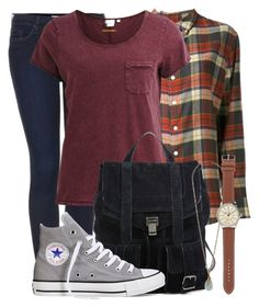 The Fosters- Callie Jacob by darcy-watson on Polyvore featuring Object Collectors Item, Band of Outsiders, Topshop, Converse, Proenza Schouler, J.Crew and Forever 21