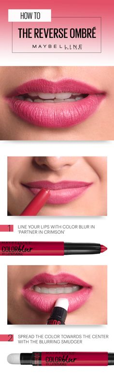 Summer ombre lips