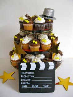 Hollywood Cupcake Tower