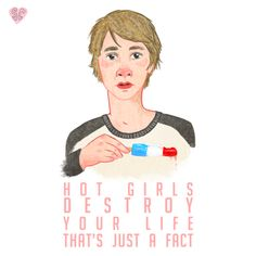 Me Earl and the Dying Girl illustration quote sarah cochrane fan art V2