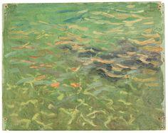 amare-habeo:    Joaquín Sorolla (Spanish,  1863 – 1923)   Sea (Jávea),1905 Oil on cardboard, 19 x 24 cm Museo Sorolla, Spain