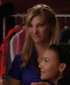 Naya Rivera , Heather Morris Santana Lopez - Brittany s Pierce Brittana glee