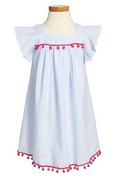 Mignone Flutter Sleeve Seersucker Dress (Toddler Girls, Little Girls and Big Girls) available at #Nordstrom
