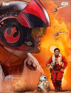 Poe Dameron - Plakat