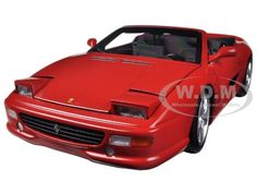 diecastmodelswholesale - Ferrari F355 Spider Convertible Red Elite Edition 1/18 Diecast Car Model by Hotwheels, $89.99 (http://www.diecastmodelswholesale.com/ferrari-f355-spider-convertible-red-elite-edition-1-18-diecast-car-model-by-hotwheels/)