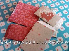 FREE printable paper pattern and envelope pattern - Le lapin dans la lune - Non dairy Diary - Happier