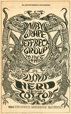 7/23-28/1968........ (BG-130) .... Fillmore West ...  Moby Grape .... Jeff Beck Group .... Mint Tattoo .... Charles Lloyd Quartet .... Herd .... James Cotton Blues Band ....  Artwork by .... LEE CONKLIN