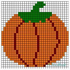 Pixel Crochet, Crochet Quilt, Tapestry Crochet, Counted Cross Stitch Patterns, Cross Stitch Designs, Cross Stitch Embroidery, Fall Cross Stitch, Cross Stitch Kitchen, Pony Bead Patterns