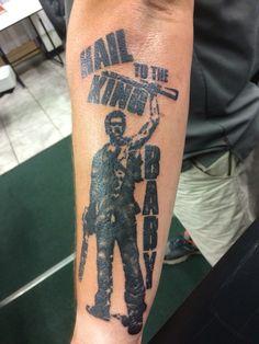 Evil dead army of darkness tattoo