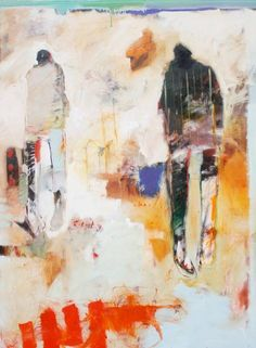 Chris Gwaltney - Christ Gwaltney at Seager Gray Gallery showing NYC City Street an abstract painting with strong daring use of color in Mill Valley California San Francisco Bay Area Figure Painting, Painting & Drawing, People Art, Fine Art Gallery, Contemporary Paintings, Figurative Art, Painting Inspiration, Cool Art, Abstract Art