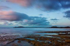 Patel colours during a beautiful sunrise in Tasmania... #tassie #sunrise #nature http://www.joelcoleman.com/journal/2016/06/tasmanian-magic/