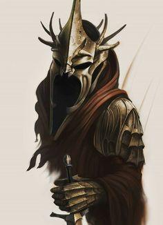 Witch King of Angmar fan art Nazgûl