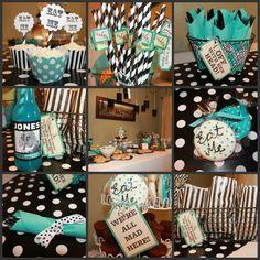 Alice in Wonderland inspired Sweet Sixteen.   http://www.etsy.com/shop/FaireUneFete