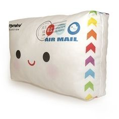 a happy mail pillow!